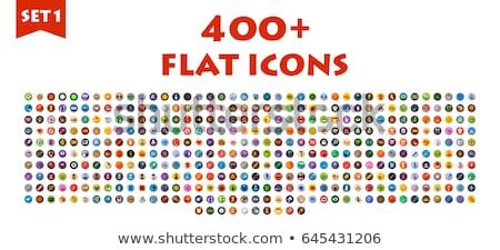icônes · vecteur · ensemble · couture · coloré - photo stock © netkov1