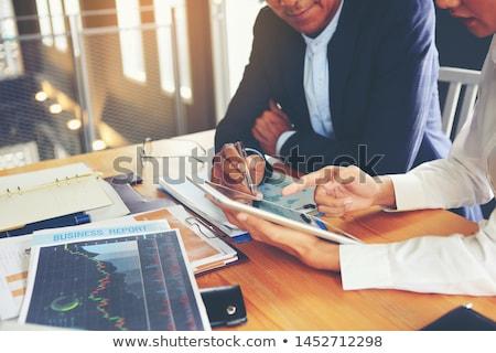 Iş danışman stratejik vektör Stok fotoğraf © robuart