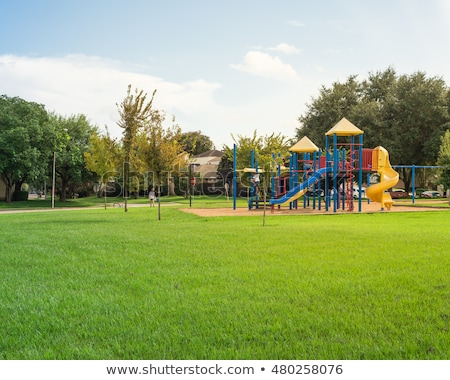 Neighborhood park and playground Stock photo © jsnover