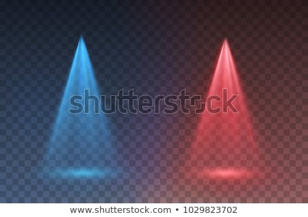 versus vs background with blue and red spotlights Stock photo © SArts