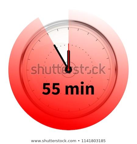 Realista cincuenta cinco temporizador Foto stock © evgeny89