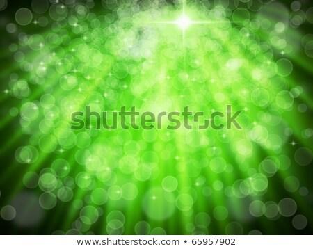 Abstrato verde aura branco bokeh teia Foto stock © nuttakit