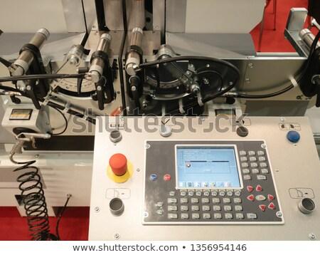 máquina · panel · de · control · impresora · escáner · negocios - foto stock © paha_l