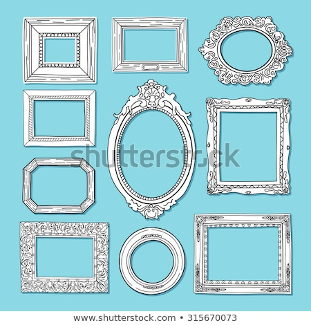 Stock fotó: Picture Frame From Baguette