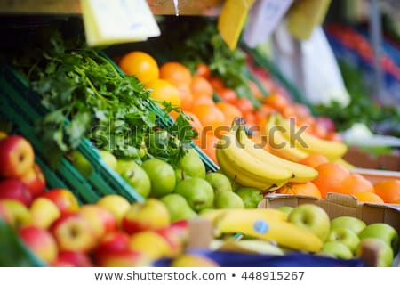 Stock photo: Fruits in supermarket