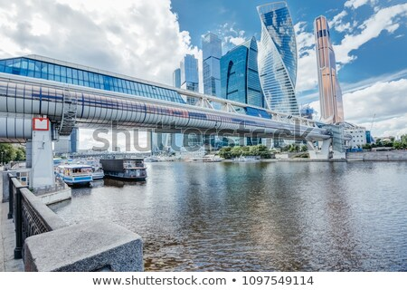 bagration's bridge. moscow city Stock photo © Paha_L