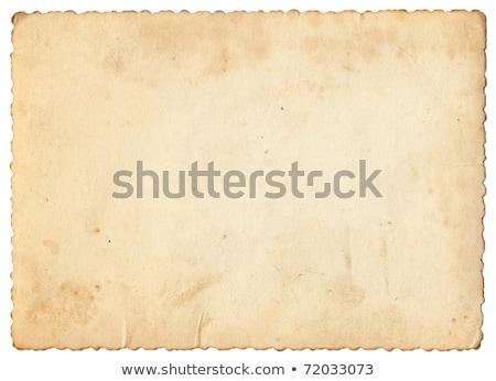vintage · postar · cartão · elementos · velho · preto · e · branco - foto stock © 5xinc