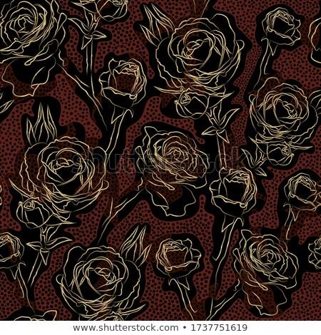 cuero · bolso · forma · rosas · amarillo · aislado - foto stock © RuslanOmega