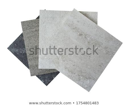 Aislado muestra piedra naturaleza arte blanco Foto stock © grafvision