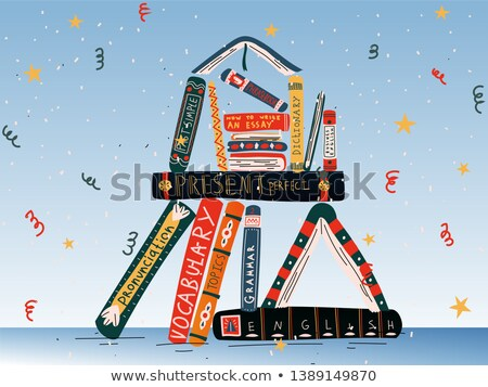 back to school literature stock photo © hectorsnchz