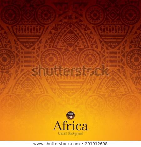 Africa background Stock photo © dagadu