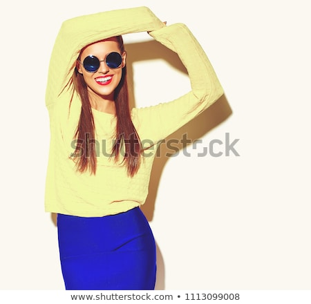 woman posing in trendy glasses stock photo © photography33