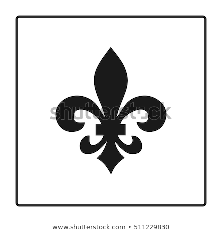 fleur de lis scroll antique stock photo © creative_stock