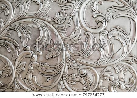 антикварная архитектурный Элементы изолированный белый каменные Сток-фото © dayzeren