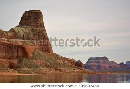 Castle Rock Wahweap Bay Lake Powell Glen Canyon Recreation Area  Stock photo © billperry