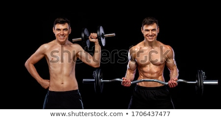 Bodybuilder Before and After Stock photo © AlienCat