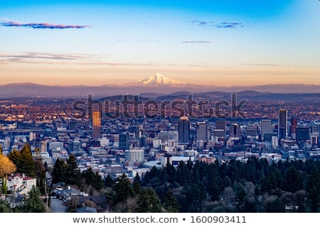 オレゴン州 高い 建設 水 自然 風景 ストックフォト © Rigucci