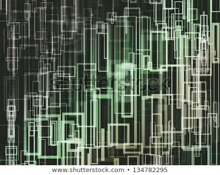 carré · dynamique · résumé · ordinateur · lumière · design - photo stock © jaggat_rashidi