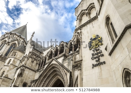 Сток-фото: Royal Courts Of Justice