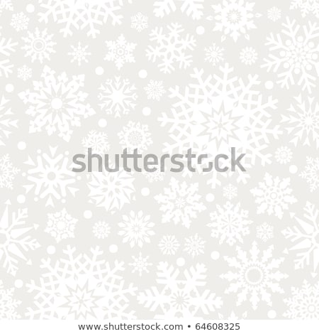 Snow seamless background - pattern for continuous replicate. Stock photo © Leonardi