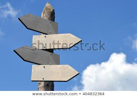 tabelasını · sokak · dizayn · Metal · imzalamak · trafik - stok fotoğraf © czaroot