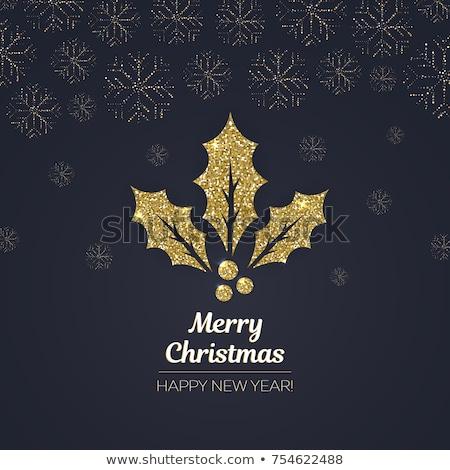 Vischio nice Natale sfondo segno Foto d'archivio © jonnysek