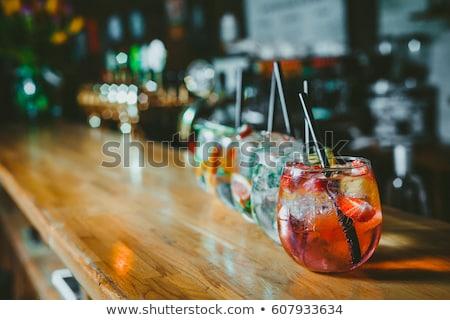 green party drinks stock photo © hypnocreative