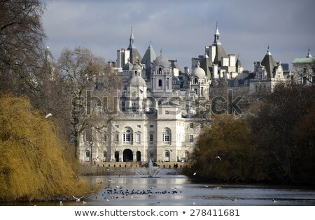 View from St. James's Park in London Stock photo © chrisdorney