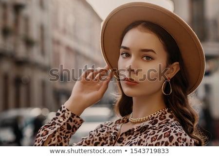 若い女性 チェーン スレーブ 女性 囚人 悪 ストックフォト © stokkete