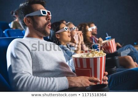 guardare · film · teatro · uomo · film - foto d'archivio © hasloo