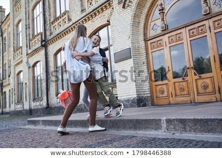 image · mère · fils · parc - photo stock © get4net