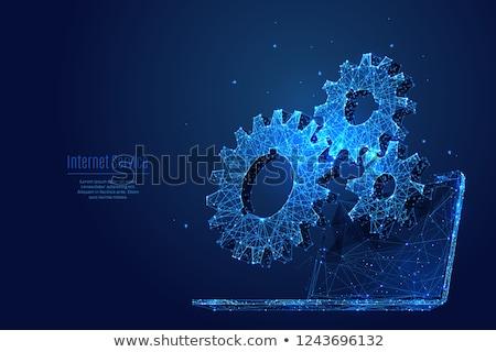 teoria · parceiro · partícula · padrão · modelo · corrigir - foto stock © ratch0013