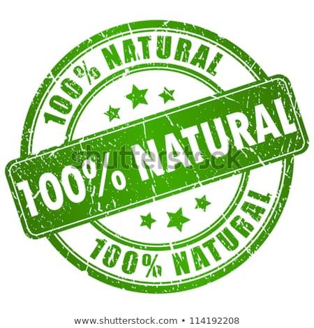 Natural rubber stamp Stock photo © burakowski