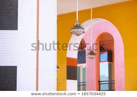 Árabe · decoração · cidade · Marrocos · ponto · de · referência · pormenor - foto stock © taiga