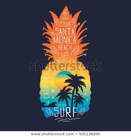 T Shirt Template- Printable tshirt graphic Stock photo © shawlinmohd