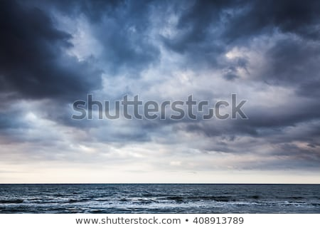 Burzy niebo piękna chmury apokalipsa jak Zdjęcia stock © leedsn