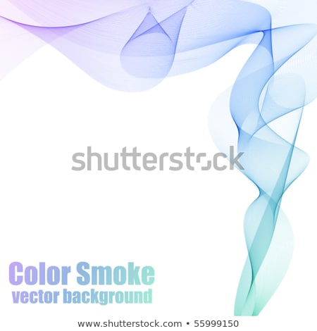 Abstract blue and violet vector smoke background with copy space Stock photo © OlgaYakovenko