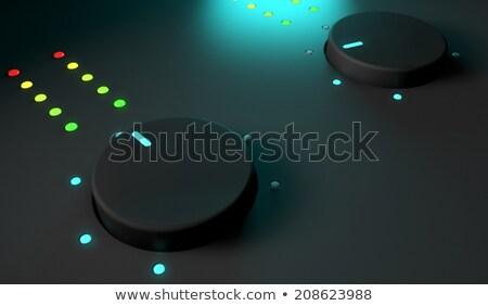 3D primer plano mezclador brillante luz Foto stock © Elisanth