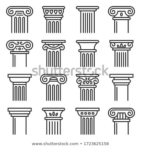 pillars and columns vector illustrations stock photo © slobelix