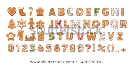 christmas ginger bread Stock photo © M-studio