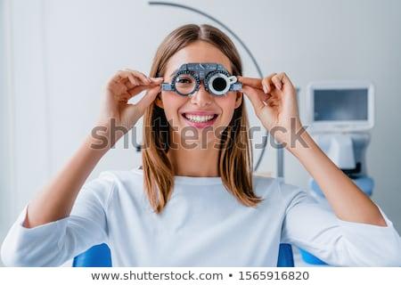 eye examination Stock photo © adrenalina