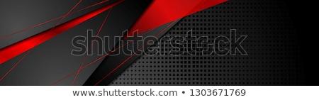 Vermelho preto corporativo textura luz projeto Foto stock © saicle