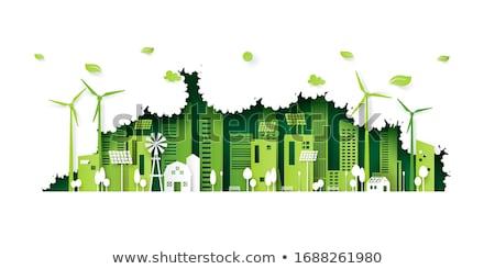 風 エネルギー 空 ツリー 自然 緑 ストックフォト © BibiDesign