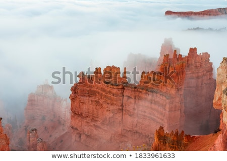 Colorful sandstone cliffs of Bryce Canyon stock photo © emattil
