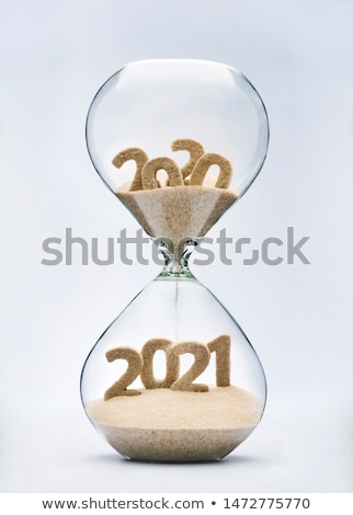 The Begining of Time - Sand Timer Stock photo © ankarb