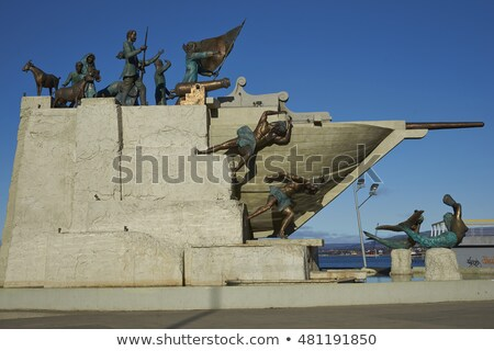 Maritime Monument in Punta Arenas, Chile Stock photo © wildnerdpix