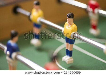 Retro toy football or soccer player Stock photo © hd_premium_shots
