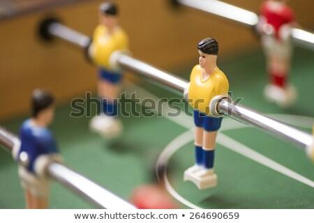 ретро · игрушку · футбола · футболист · подвесной · металл - Сток-фото © hd_premium_shots