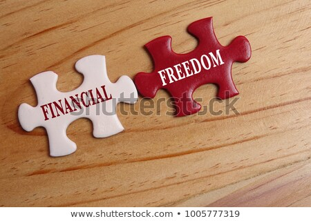 Detection - White Word on Red Puzzles. Stock photo © tashatuvango