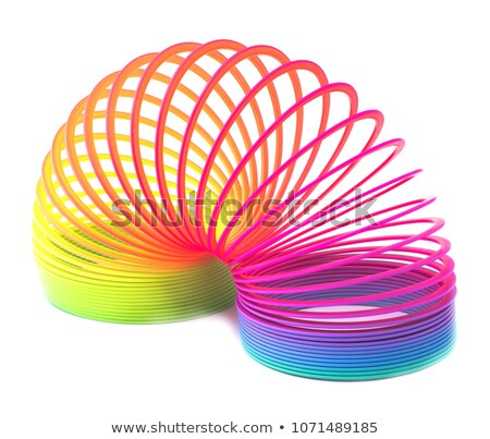 Colorful Rainbow Spiral Stock photo © oblachko